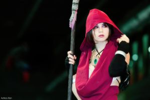 Morrigan - Well, well, what have we here? by Achico-Xion