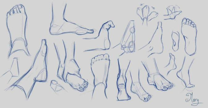 Feet by mary3m