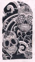Sugar Skulls by Kirzten
