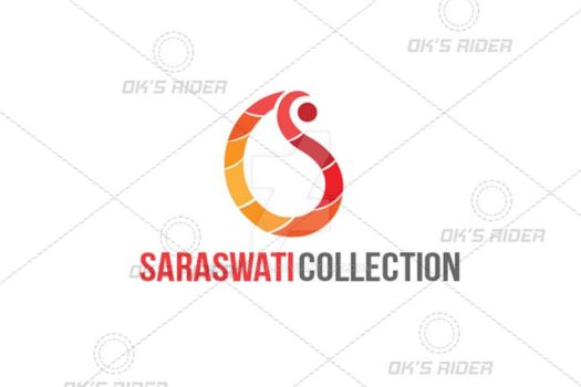 Saraswati collection S letter Logo by Oksrider