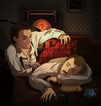 Sherlock: I care about you by LaLunatique