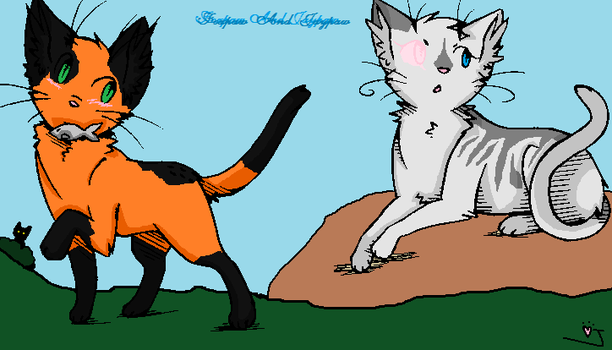foxpaw and jaypaw~ by vinespeck