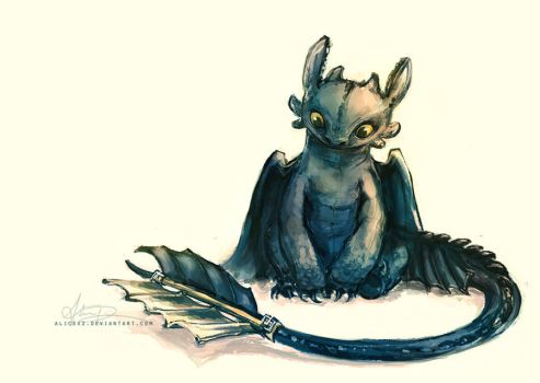 Toothless by alicexz