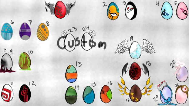 Moar egg adopts!!!!!! FREE (closed) by peach-of-crazyness