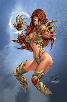 Witchblade Color by mennyo