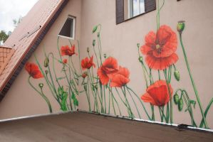 Poppies. Created for Forester House by tiN-naR