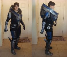 Mass Effect 3 - Garrus Armor, mostly complete by Nightlyre