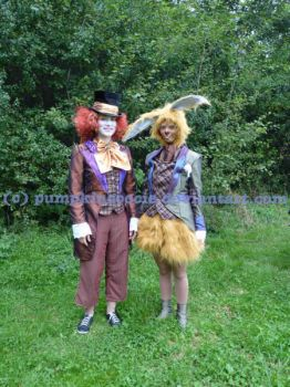 Mad Hatter and  March Hare by PumpkinCoocie