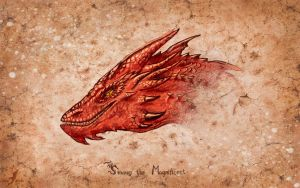 Smaug the Magnificent by AlviaAlcedo