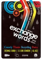 Exchange Words Poster 1 by squiglemonster