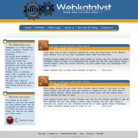 Webkatalyst redesign by SolidSilver