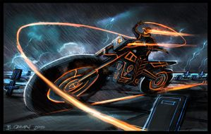 GhosTron Rider by The-Hand