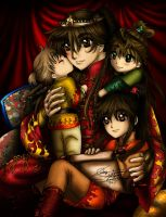 Fire Guardian Family by Succubus1982