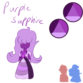 (AS) Padparadscha Sapphire/Sapphire by Pokederp198