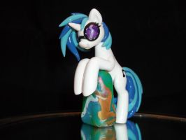 Vinyl Scratch Laptop Hugger by DeadHeartMare