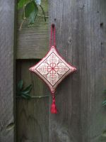 Ornament of the Month - January,  Ornament finish by Magical525