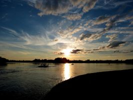 Intricate Sunset Sky by Michies-Photographyy