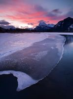 Vermillion Lakes, Banff by Brettc