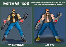 Strike Re-Draw Trade for Dualmask by PaulOoshun