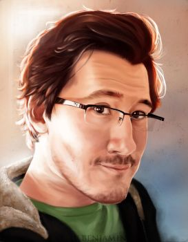 Another Markiplier fanart by IVbenjamin