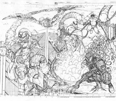 spiderman sinister six 2 and 3 by vicmed
