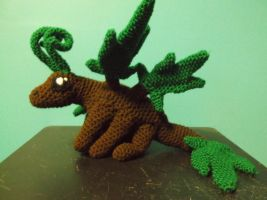 Fayleaf, Butterfly fairy amigurumi by ShadowOrder7
