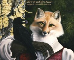 The Fox and the Cheese by beckyg