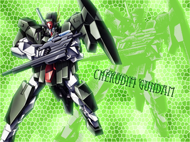 Cherudim Gundam Wallpaper Fin? by hono-san