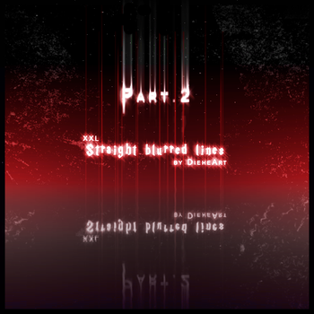 Straight Blurred Lines Brushes by DieheArt