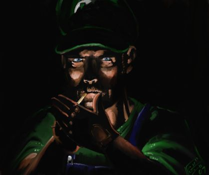 Luigi Mastermind by Garrenh