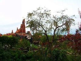 Big Thunder Mountain in Disney by Windydy