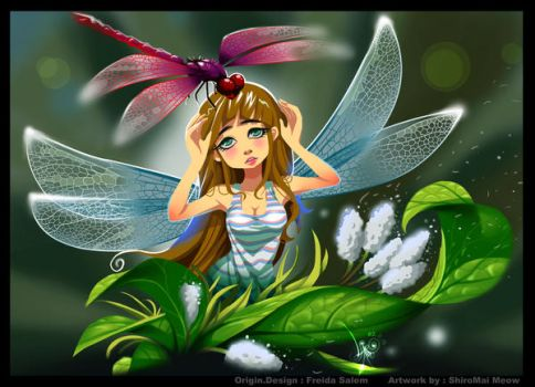 DragonFly Fairy by Shiromai89