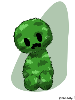 Fluffy Creeper by Coffgirl
