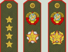 The highest military ranks in the Soviet Union by LordPlegeus