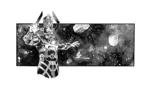 Galactus sketch. by GIO2286