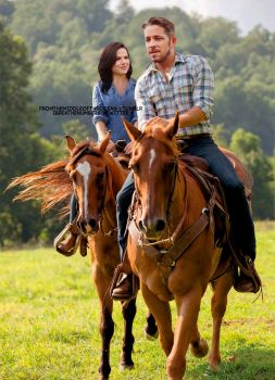 OQ Horseback Riding by skylarmist