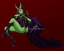 Maleficent by 17autilus