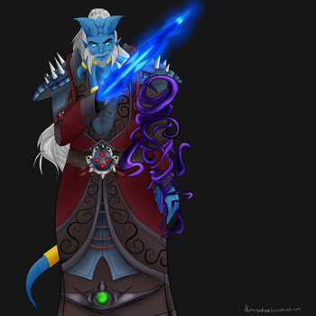 Orthuus the Shadow Priest by Himesatou