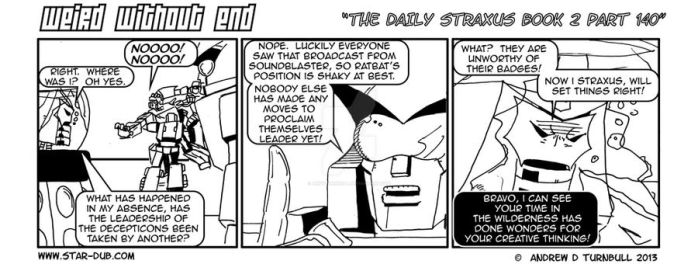 The Daily Straxus Book 2 Part 140 by AndyTurnbull