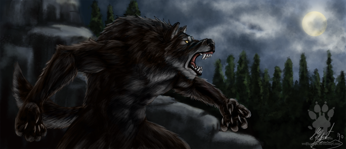 Werewolf on the Loose by TheMaggiezine