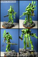 Wraithlord: The scorpion king by Snowfyre