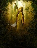 Creature of the Forest by maiarcita