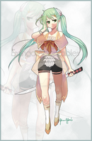::AUCTION:: Adoptable Samurai Girl [CLOSED] by Erangot