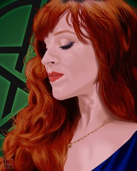 Celebrity Vector - Ruth Connell by EmmaEsme