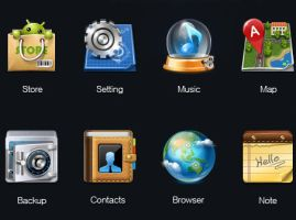 Android icons by FreeIconsFinder