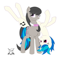 Vinyl And Octavia, shenanigans abound by shadawg