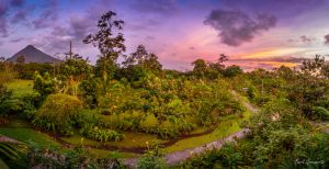 Arenal in the morning by Mappyke