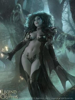 Dark Queen Guinevere by Cryptcrawler
