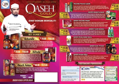 Flyers Qaseh Gold by draxter7