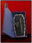 Gothic Card with a box by blackrose1959